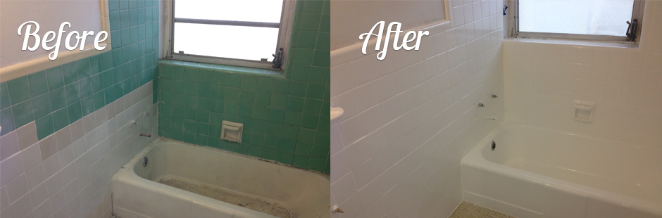 Refinish Bathroom Tile tile refinishing | florida bathtub refinishing